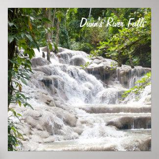 Customize Dunn's River Falls photo Poster