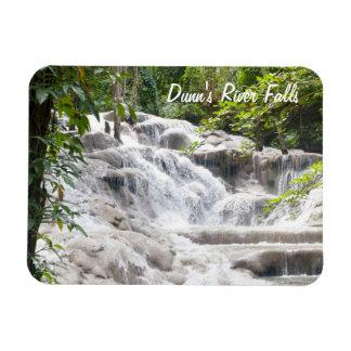 Customize Dunn's River Falls photo Rectangular Photo Magnet