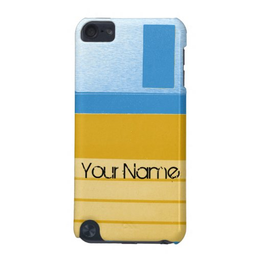 Customize Floppy Disc Personalize Retro iPod Touch 5G Cases