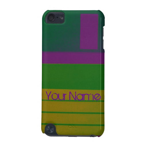 Customize Floppy Disc Personalize Retro iPod Touch (5th Generation) Covers