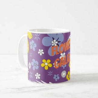 Customize Flower Galaxy Coffee Mug