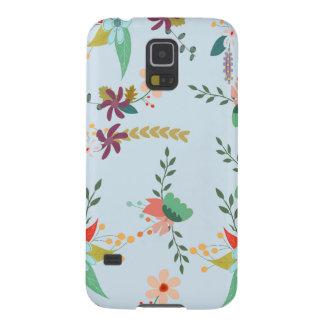 Customize Flower Pattern Galaxy S5 Case