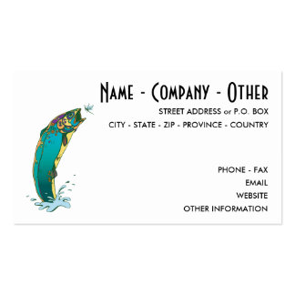 Customize Fly Fishing Pack Of Standard Business Cards