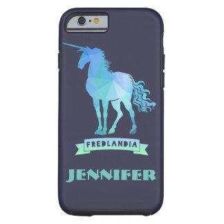 Customize Fredlania Unicorn Tough iPhone 6 Case