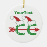 CUSTOMIZE Funny Christmas © Cross Country 1-sided