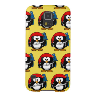 Customize Funny Pirate Pinguin Cases For Galaxy S5