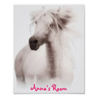 Customize Horse Party Invitations and Cards Poster