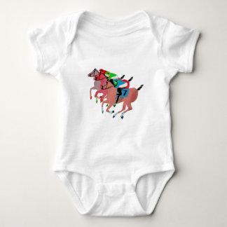 Customize Horse Racing  Design Baby Bodysuit