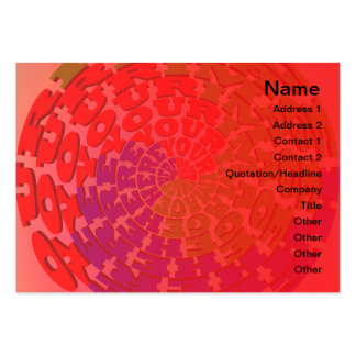 Customize It! Business Cards