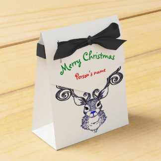 Customize lobster east coast Christmas treat bag Favour Box