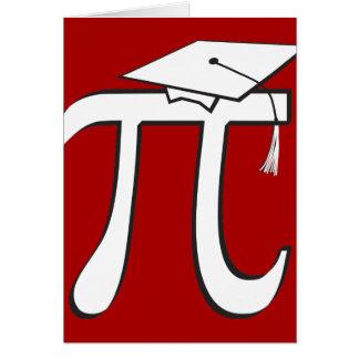 Customize - Math Pi Graduate Card