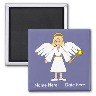 Customize Me -- Children's Nativity Angel Magnet