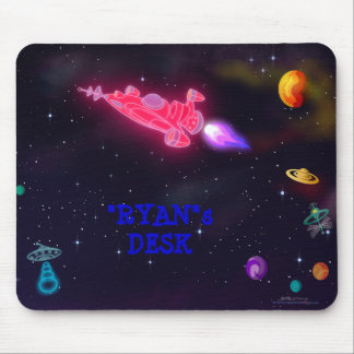 """customize me!"" Outer Space Mouse Pad"