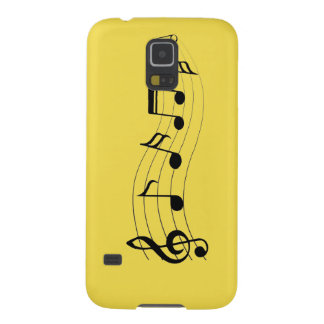 Customize Musical Notes Galaxy S5 Covers