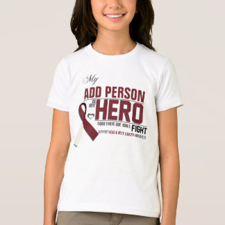 Customize MY HERO:  Head & Neck Cancer T-Shirt