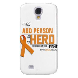 Customize MY HERO:  Leukemia Samsung Galaxy S4 Case