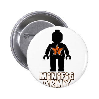Customize My Minifig Army Man Pin
