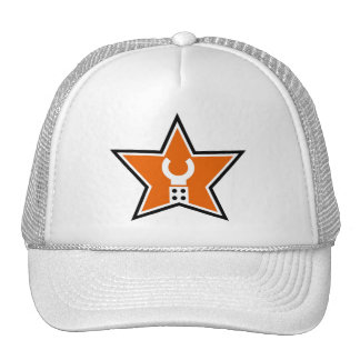Customize My Minifig Business Logo Mesh Hat