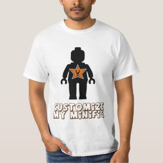 Customize My Minifig 'Minifig Man' Tee Shirts