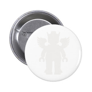 Customize My Minifig Winged Greek God Pinback Button