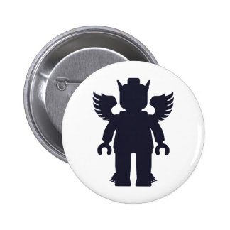 Customize My Minifig Winged Greek God Buttons