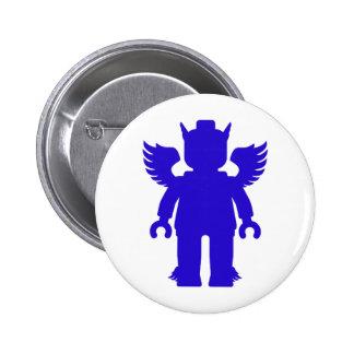 Customize My Minifig Winged Greek God Pin