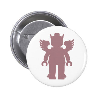 Customize My Minifig Winged Greek God Pins