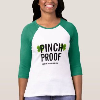 customize pinch proof funny t-shirt design