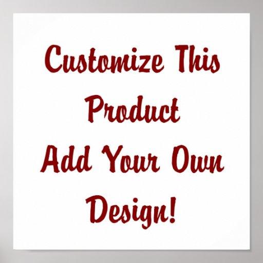 Customize - Poster