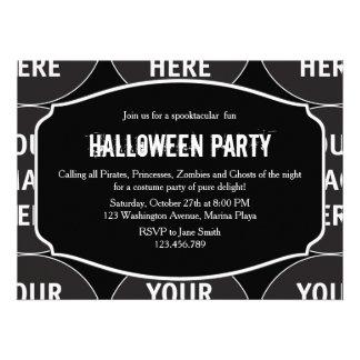 Customize Product Halloween Invitation
