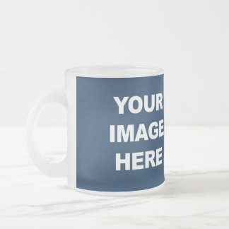 Customize Product Frosted Glass Mug