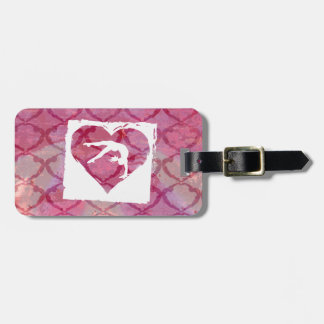 Customize Product Personalized Gymnastics Dance Luggage Tag