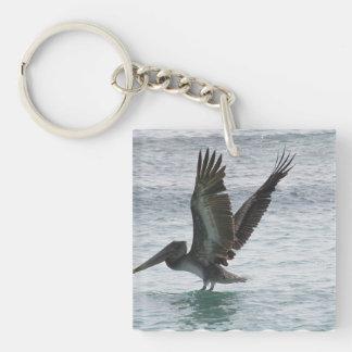 Customize Product Single-Sided Square Acrylic Key Ring