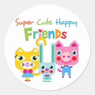 Customize Product Round Sticker