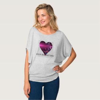 Customize Purple Heart Sweetheart Shirt