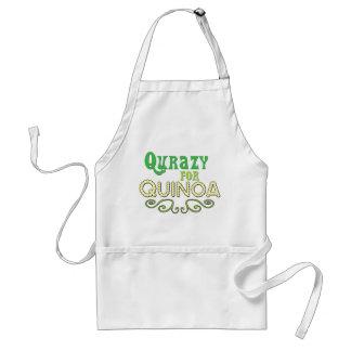 Customize Qurazy for Quinoa © - Funny Quinoa Quote Adult Apron