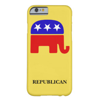 Customize Republican Elephant Barely There iPhone 6 Case