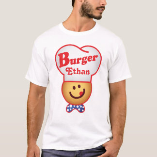 Customize Retro Burger Joint - Burger Bob Vintage T-Shirt