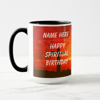 Customize Spiritual Birthday Mug