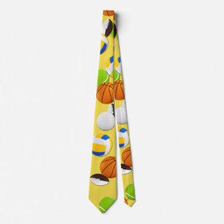 Customize Sport Balls Party Tie