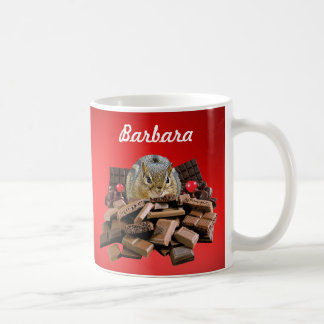 Customize Sweetest Day Chocolate Chipmunk Coffee Mug