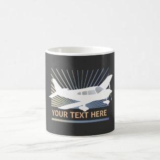 Customize Text - Low Wing Airplane Mug