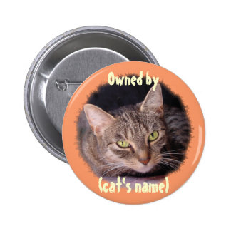 Customize this 6 cm round badge
