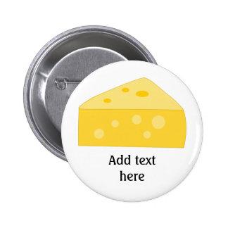 Customize this Big Cheese graphic 6 Cm Round Badge