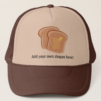 Customize this Buttered Toast graphic Trucker Hat