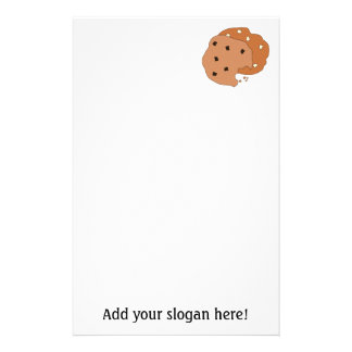 Customize this Cookies graphic Stationery Paper