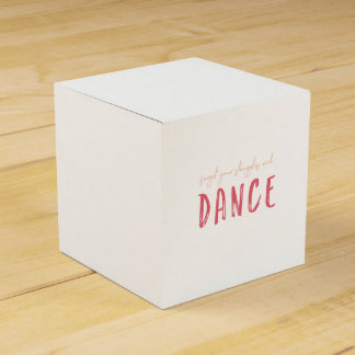 Customize This Forget Your Struggles and Dance Favour Box