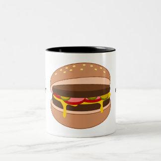 Customize this Hamburger graphic Coffee Mugs