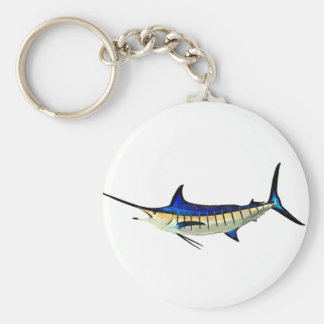 Customize this Marlin with your Boat Name Key Ring