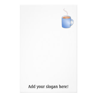 Customize this Mug of Coffee graphic Stationery Paper